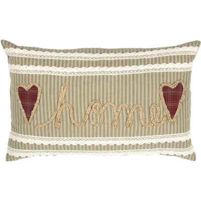 VHC Brands Prairie Winds Home 14 x 22 Pillow