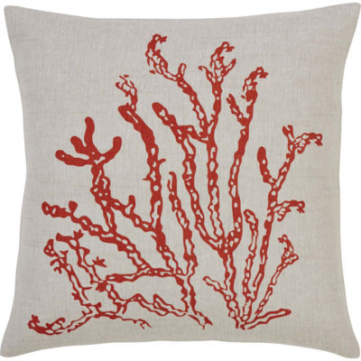 VHC Brands Coral Life 18 x 18 Pillow