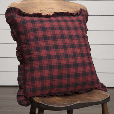 VHC Brands Cumberland 18 x 18 Plaid Pillow