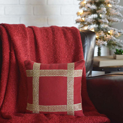 VHC Brands Revelry Trim 12 x 12 Pillow