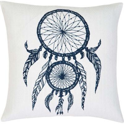 VHC Brands Dreamcatcher 18 x 18 Pillow