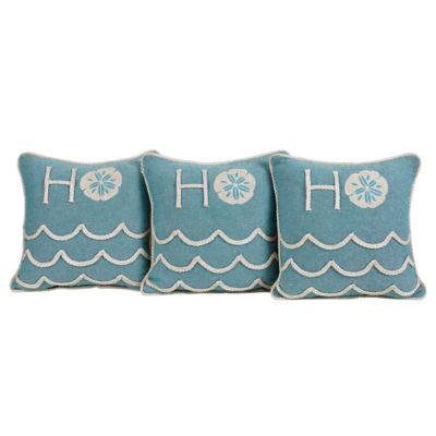 VHC Brands Sanbourne 12 x 12 Pillow Set of 3