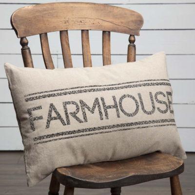 VHC Brands Sawyer Mill Farmhouse 14 x 22 Pillow