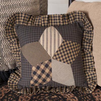 VHC Brands Farmhouse Star 10 x 10 Pillow