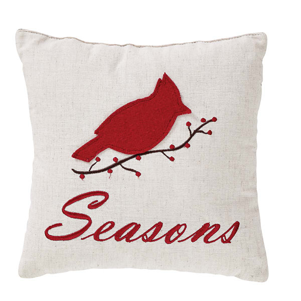 VHC Brands Seasons Greetings 10 x 10 Pillow Set
