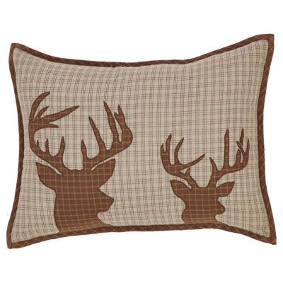 VHC Brands Tallmadge Deer 14 x 18 Pillow