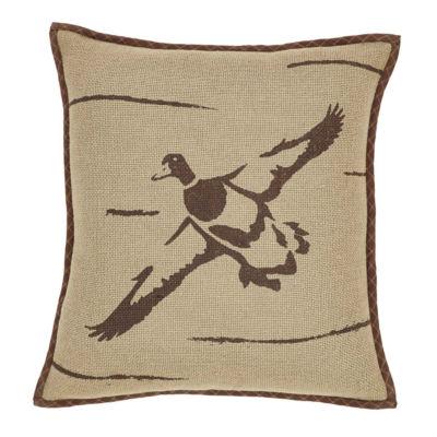 VHC Brands Tallmadge Duck in Flight 16 x 16 Pillow