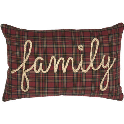VHC Brands Tea Star Family 14 x 22 Pillow