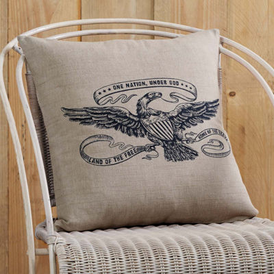 VHC Brands Victory Eagle 18 x 18 Pillow