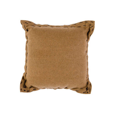 VHC Brands Warm Wishes Mitten & Warm Winter Wishes 10 x 10 Felt Pillow