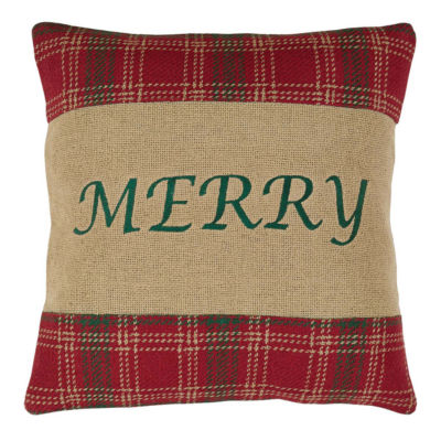 VHC Brands Whitton Merry 16 x 16 Pillow