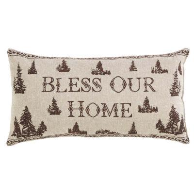 VHC Brands Woodland Christmas 7 x 13 Pillow Set