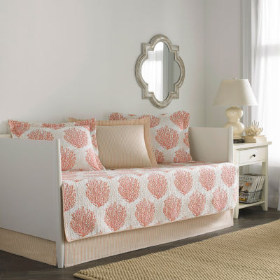 Laura Ashley Coral Coast Coral Daybed Set