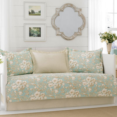 Laura Ashley Brompton Aqua Daybed Set
