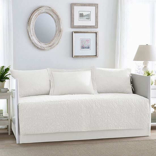 Laura Ashley Felicity White Daybed Set - JCPenney