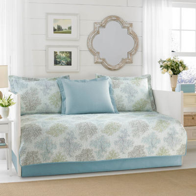 Laura Ashley Saltwater Blue Daybed Set