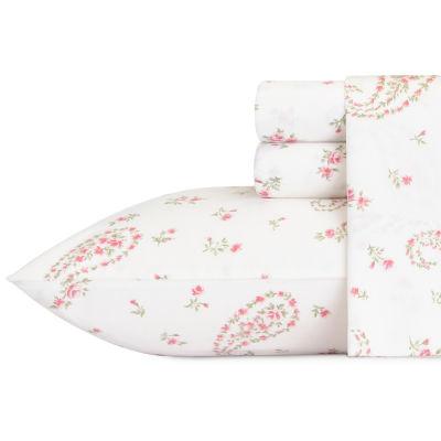 Laura Ashley Bristol Paisley Pink Sheet Set