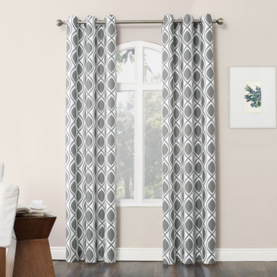Valerie Cullen Grommet-Top Curtain Panel