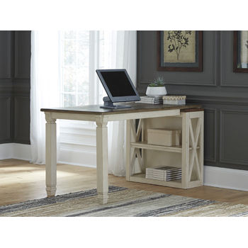 Signature Design by Ashley® Bolanburg Desk With Medium Bookcase