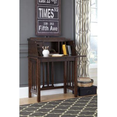 Signature Design by Ashley® Harpan Home Office Drop Front Desk