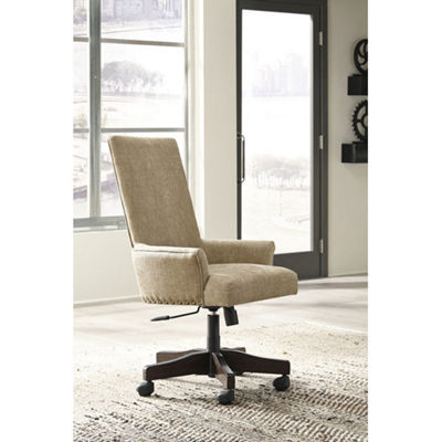Signature Design by Ashley® Baldridge Upholstered Swivel Desk Chair