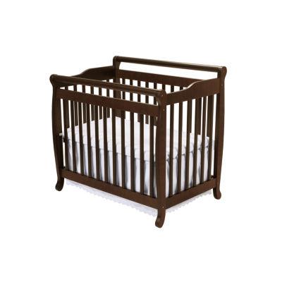 DaVinci Emily 2-In-1 Mini Crib And Twin Bed Convertible Baby Crib