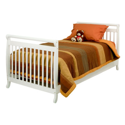DaVinci Emily 2-In-1 Mini Crib And Twin Bed Convertible Baby Crib
