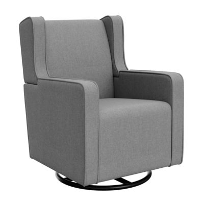 Graco Remi Upholstered Swivel Glider - Horizon Gray Glider