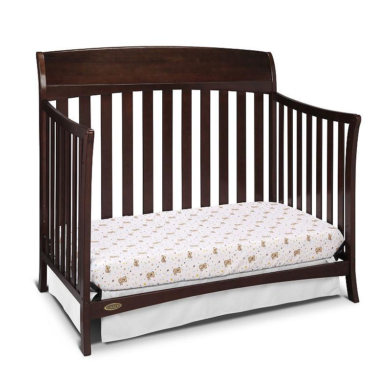 Graco Lennon 4-In-1 Convertible Baby Crib – Espresso, Infants, Espresso, One Size