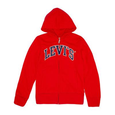 Levi's Embroidered Hoodie - Big Kid Girls