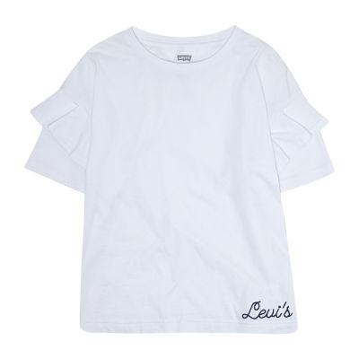 Levi's Round Neck Short Sleeve T-Shirt - Preschool  Girls