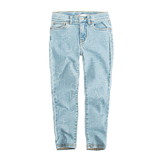 Levi's Girls 710 Kaia Ankle Super Skinny Skinny Fit Jean Preschool