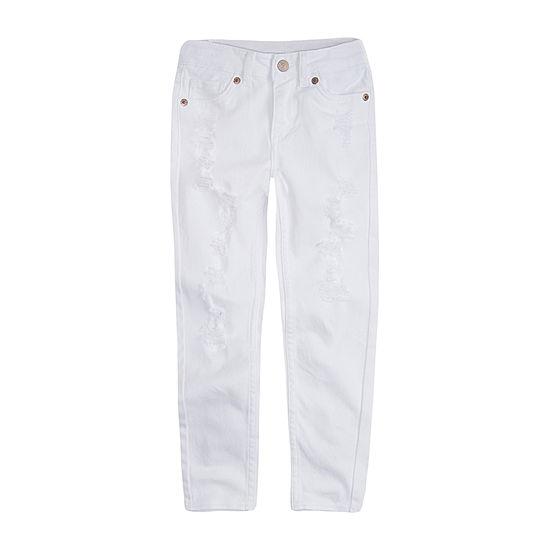 Levi's Girls 710 Color Jean Skinny Fit Jean Preschool