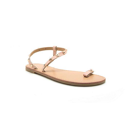 Qupid Womens Kazen-05 Flat Sandals
