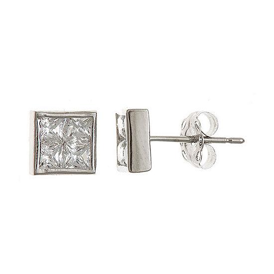 1/2 CT. T.W. White Cubic Zirconia 14K Gold Stud Earrings