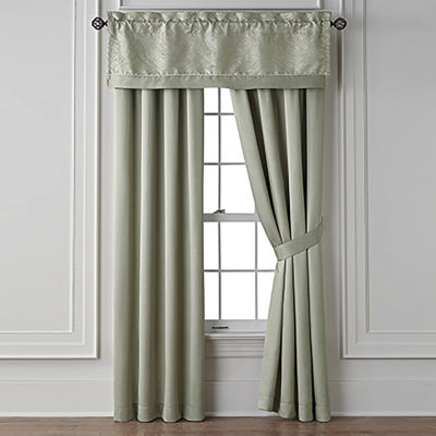 Liz Claiborne Laurent Rod-Pocket Curtain Panel