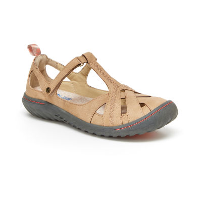 J Sport By Jambu Womens Cynthia Mary Jane Mary Jane Shoes Hook and Loop Round Toe