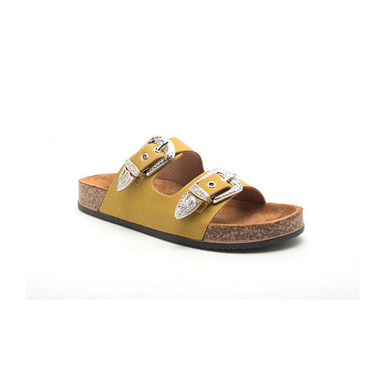 Qupid Luka-01 Womens Footbed Sandals