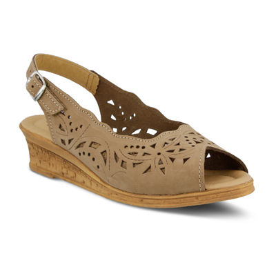 Spring Step Orella Womens Wedge Sandals