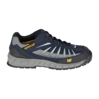 Cat Mens Infrastructure St Slip Resistant Steel Toe Work Boots Lace-up