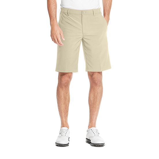 IZOD Mens Mid Rise Stretch Golf Short