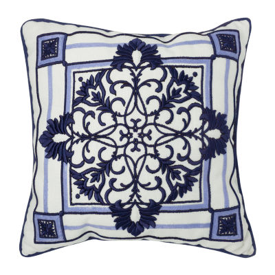 Croscill Classics Leland 16x16 Square Throw Pillow