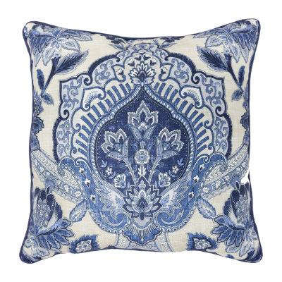 Croscill Classics Leland 18x18 Square Throw Pillow