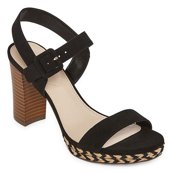 Liz Claiborne Womens Paseo Heeled Sandals