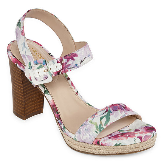 Liz Claiborne Womens Paseo Heeled Sandals