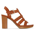 Liz Claiborne Womens Palm Heeled Sandals