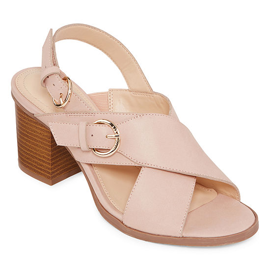 Liz Claiborne Womens Kadin Heeled Sandals