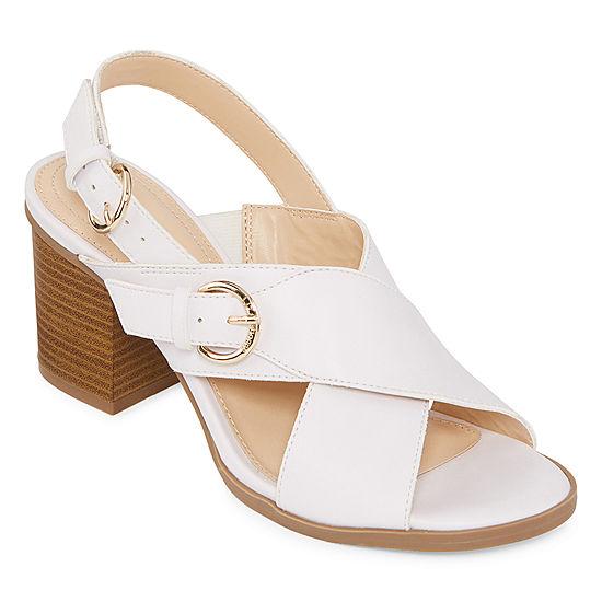 492569075337 Liz Claiborne Womens Kadin Heeled Sandals - JCPenney