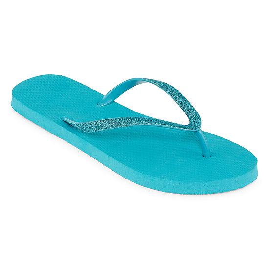 Mixit Glitter Zori Flip-Flops