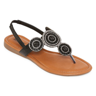 Mixit Womens Wedge Flip-Flops